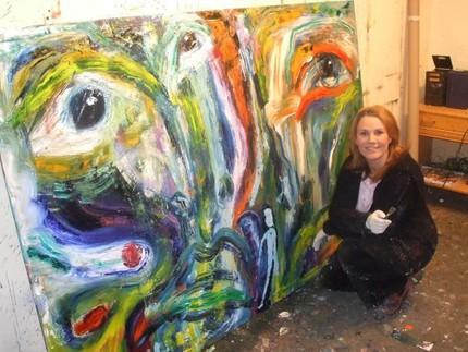 Birgitte Söndergaard vågade satsa på något hon trodde på - konsten.