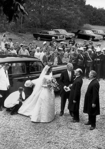 Prinsessan Margaretha gifte sig med John Ambler på Öland den 30 juni 1964.