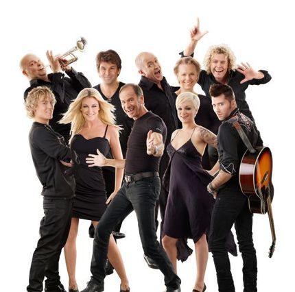 Diggiloo-gänget avslutar sommarens turné i Ulriksdals slottspark.